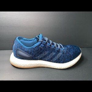 Adidas Pure Boost Men's Size 11 Navy Blue Shoes